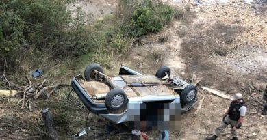 Acidente ocorreu na cidade de Condeúba, na região sudoeste da Bahia, no sábado (20). — Foto: Blog do Anderson